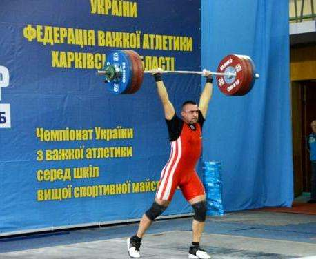 Харьковские тяжелоатлеты выиграли чемпионат Украины