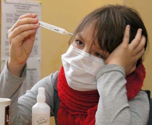 В Харькове выявлен вирус гриппа