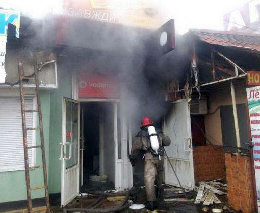 В Балаклее – снова пожар