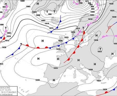 Погода в Украине: циклон отступит уже в среду