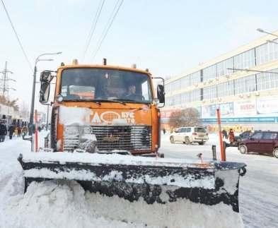 В Харькове снегоуборочная техника готова к снегопадам