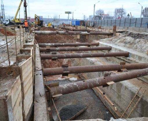 На Алексеевке строят тоннели метро