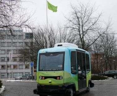 В Стокгольме пассажиров будут возить беспилотные автобусы