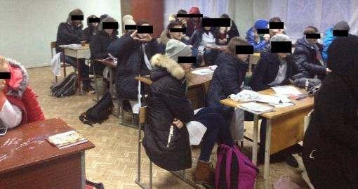 Студентов харьковского медколледжа переселили в непригодные для учебы аудитории: фото-факты