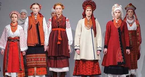 Ночь музеев в Харькове: предметы одежды превратились в арт-объекты