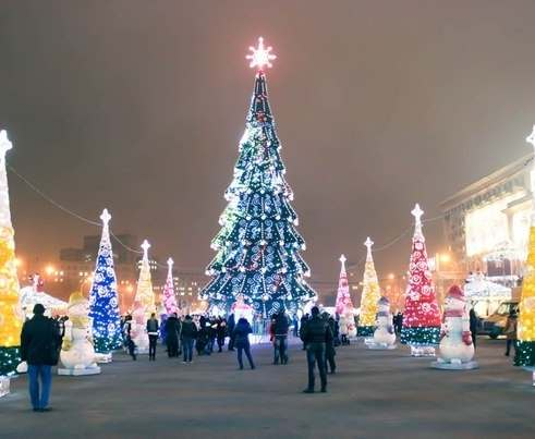 Как прошла новогодняя ночь в Украине
