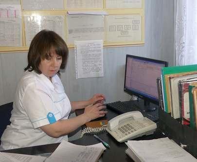 В районной больнице Харьковской области внедряют электронную очередь
