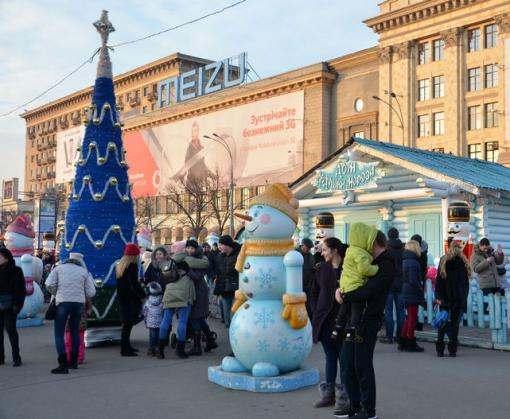 Как прошли праздники в Харькове