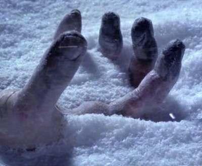 Холодная смерть: в Харьковском районе замерз человек