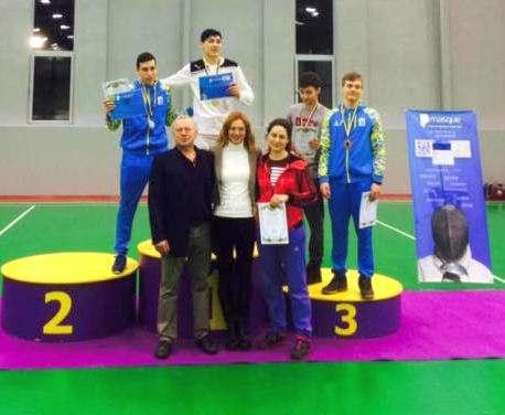 Харьковские фехтовальщики завоевали медали всеукраинского турнира