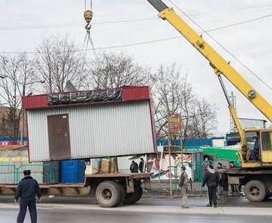 Снос «левых» МАФов в Харькове поручили независимой фирме