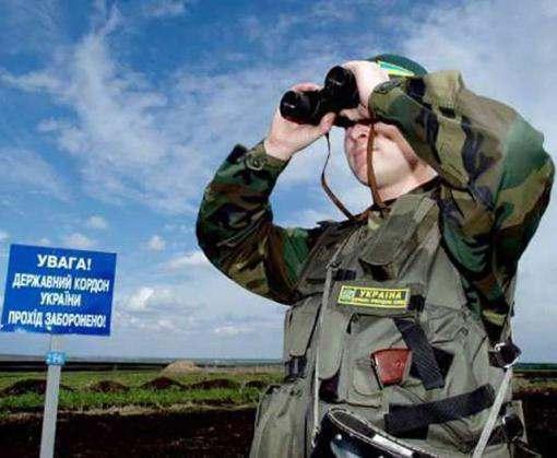 Украинских пограничников обстреляли с территории России