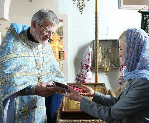 Духовный наставник Харьковского Евромайдана Виктор Маринчак удостоен награды президента Украины