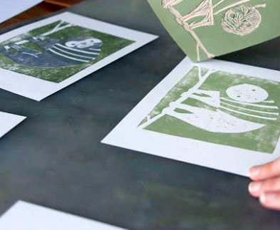 В харьковской художественной школе открывается выставка линогравюры мультипликаторов