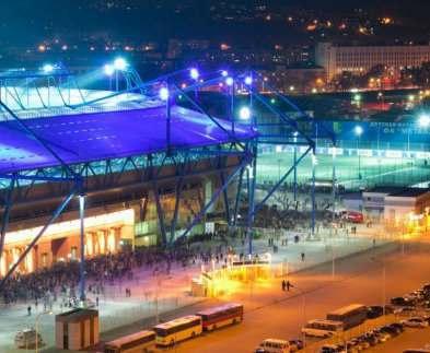 Футбол в Харькове: возле «Металлиста» перекроют улицы