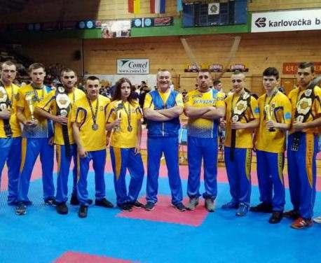Харьковские кикбоксеры завоевали медали Кубка Европы
