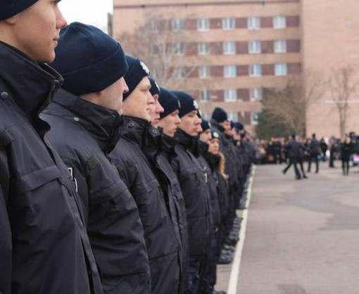 Харьковские патрульные приняли присягу