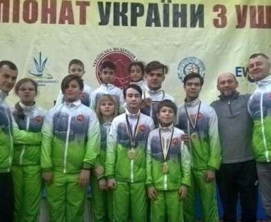 Харьковчане завоевали медали на чемпионате Украины по ушу