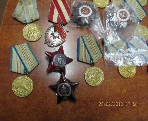 Харьковские таможенники не дали вывезти из Украины ордена и медали