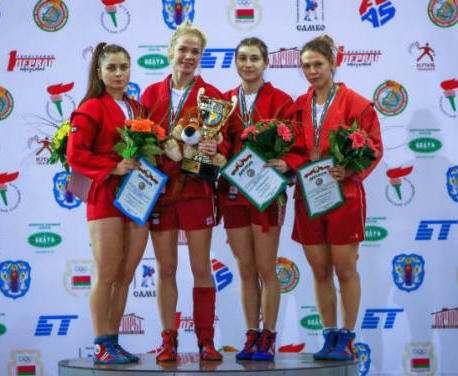 Харьковские самбистки завоевали медали международного турнира