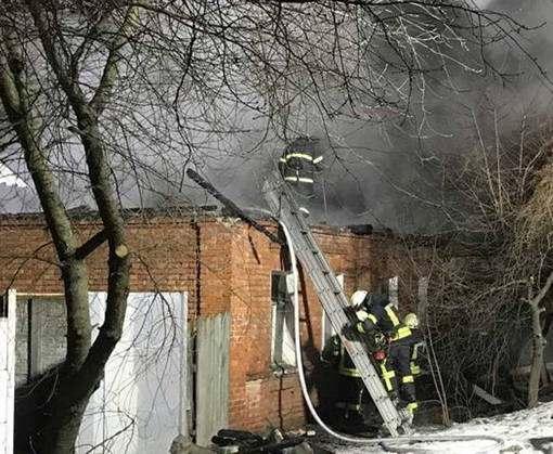 Пожар в Харькове: на Холодной горе загорелся дом (видео)