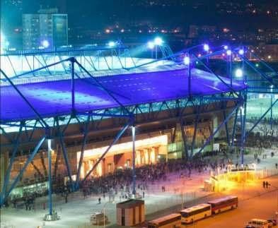 В Харькове начинают стягивать силовиков к стадиону «Металлист»