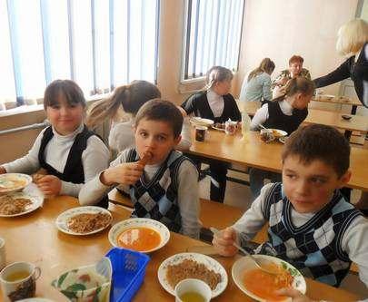Какую сумму выделяют харьковским школьникам на питание