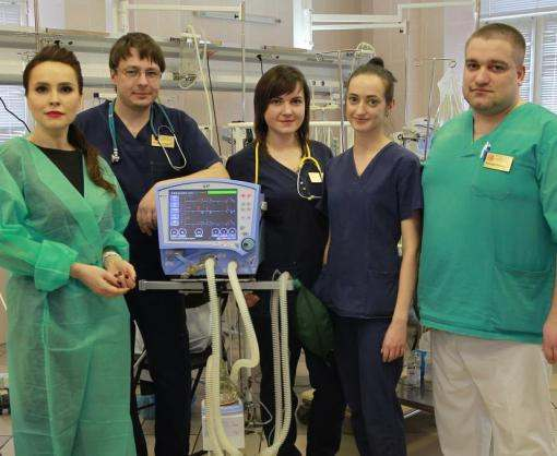 «Интер» передал детской больнице оборудование, которое поможет спасти жизнь большему количеству детей
