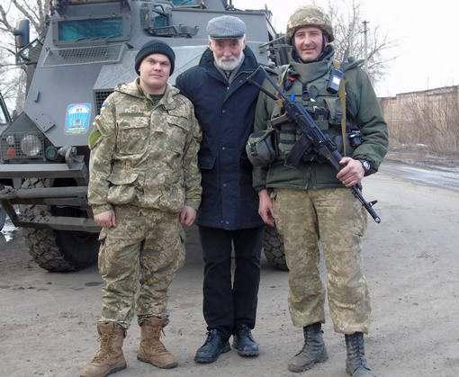 Известный харьковский актер получил орден за волонтерскую деятельность