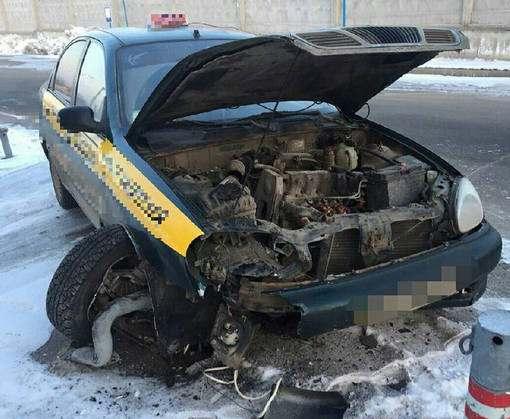 ДТП в Харькове: пострадала пассажирка такси