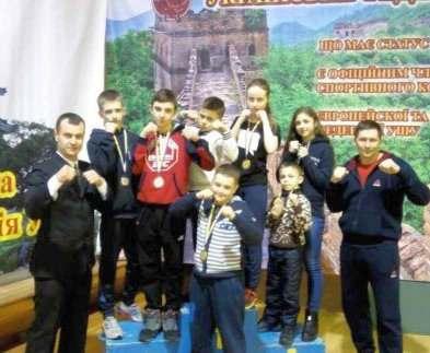 Юные харьковчане успешно выступили на чемпионате Украины по ушу