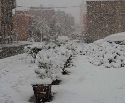 Первый день весны принесет в Украину снежные заносы