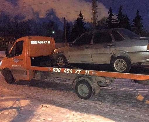 ДТП в Харькове: пьяный водитель скрылся с места аварии