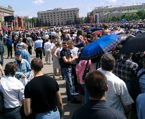 Население Харькова приближается к полутора миллионам
