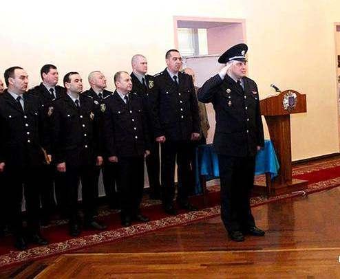 В Харькове полицейские приняли присягу