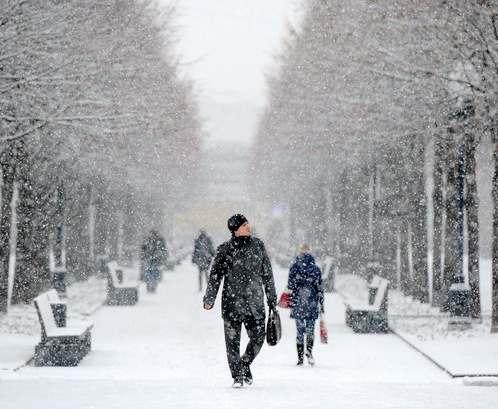 Погода в Харькове: весна пургу гонит
