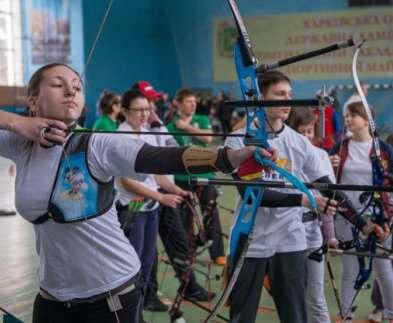 Харьковские лучники успешно выступили на чемпионате Украины