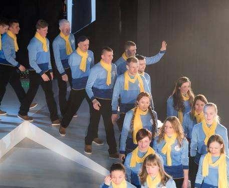 Харьковских спортсменов проводили на Паралимпиаду в Пхенчан