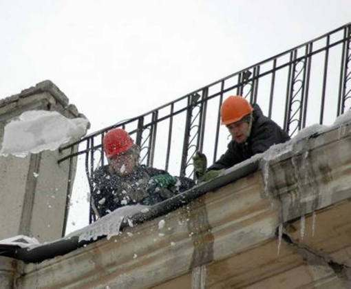 Харьковские альпинисты массово вылезли на крыши