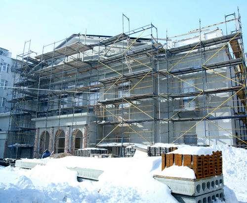Реконструкцию Харьковской филармонии обещают скоро завершить: фото-факты
