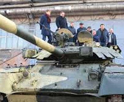 В Харькове выпустили партию танков