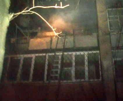 Пожар в Харькове: на Салтовке горела многоэтажка (фото)