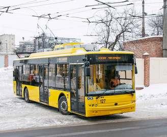 Харьковский завод поставит двигатели для троллейбусов