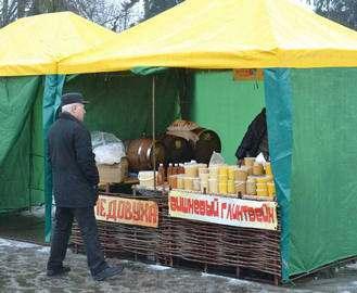 На площади Свободы открылась весенняя ярмарка: цены