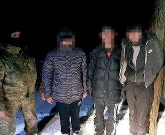 Под Харьковом поймали незаконных мигрантов