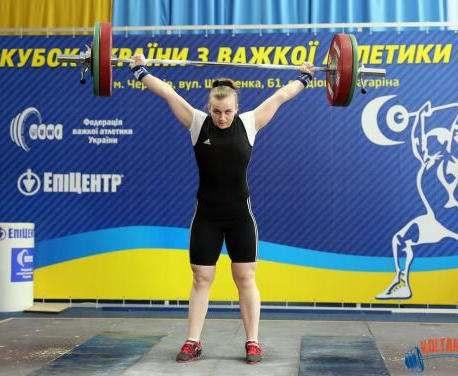 Харьковские тяжелоатлеты успешно выступили на Кубке Украины