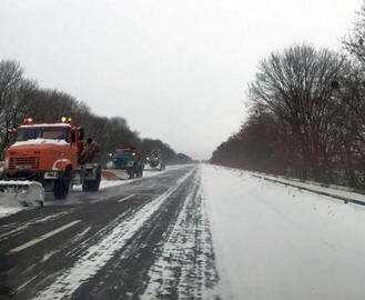 Дорожные и коммунальные службы Харьковской области переходят на усиленный режим