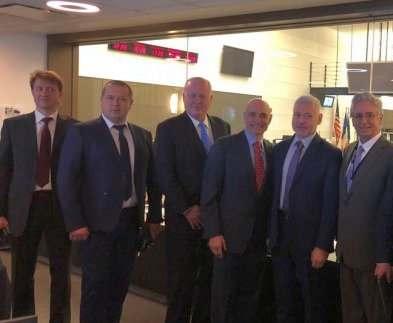 Харьковская делегация ознакомилась с работой Центра по чрезвычайным ситуациям в Нью-Йорке