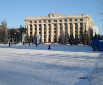 В центре Харькова перекрыто движение: снимают кино