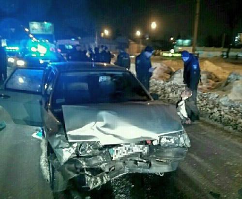 ДТП в Харькове: пьяный водитель разбил пять машин и травмировал патрульных
